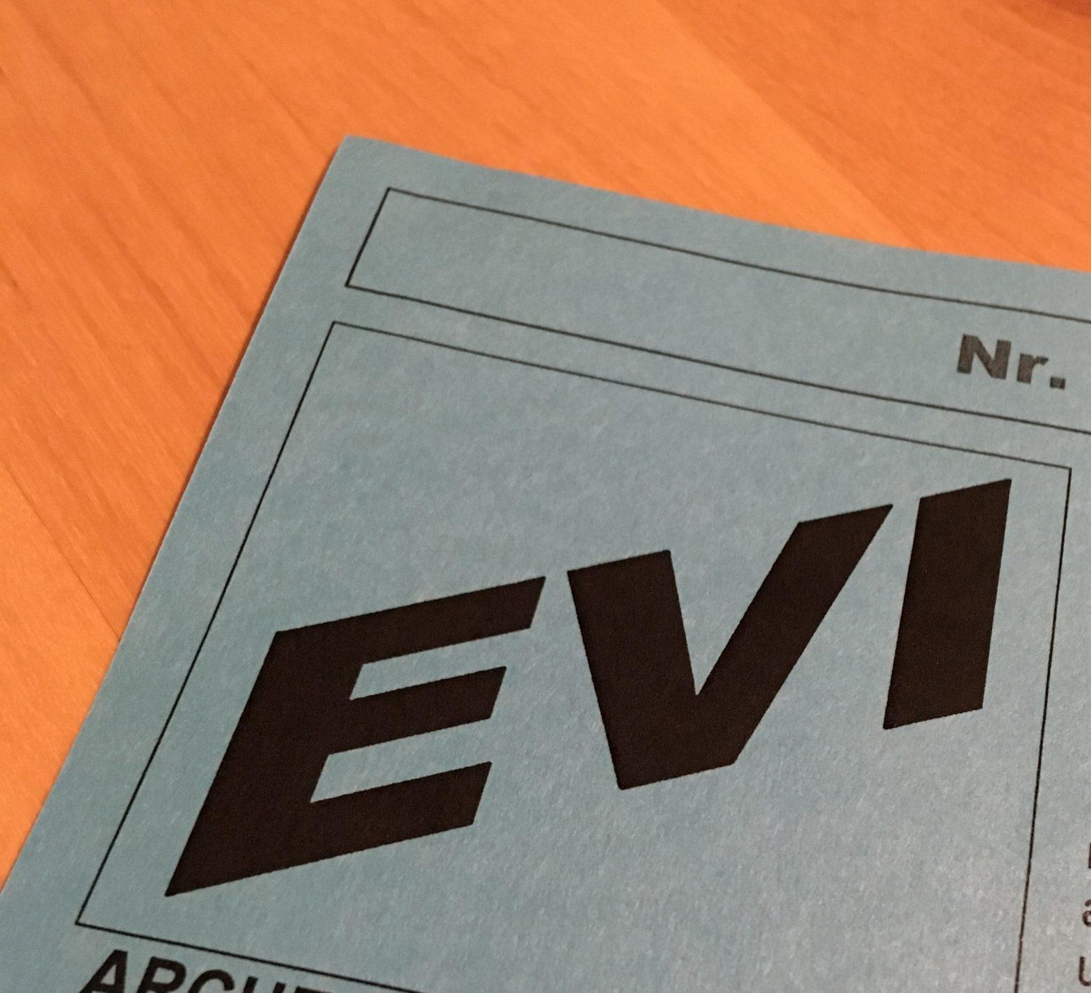 Neues Informationsblatt EVI (Dezember 2020)