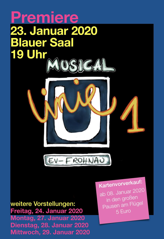 """Tickets für das Musical """"Linie 1"""""""