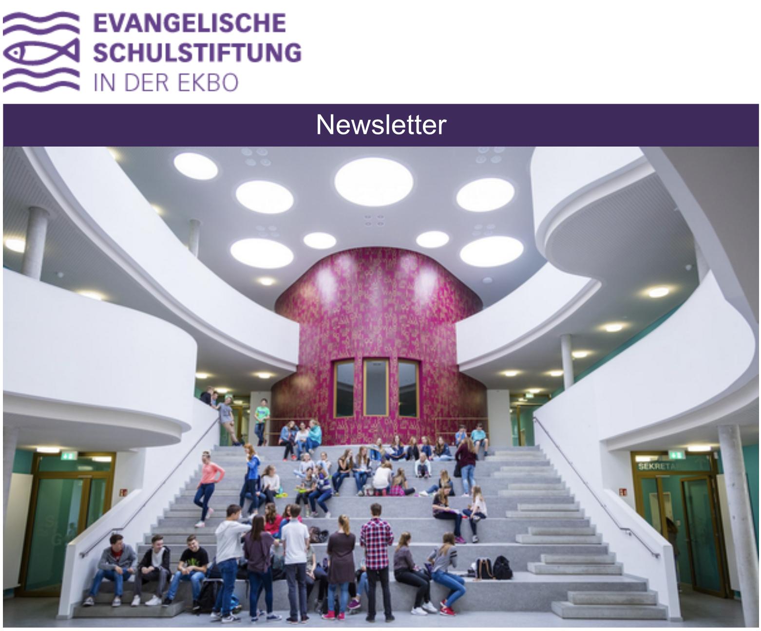 Newsletter der Evangelischen Schulstiftung