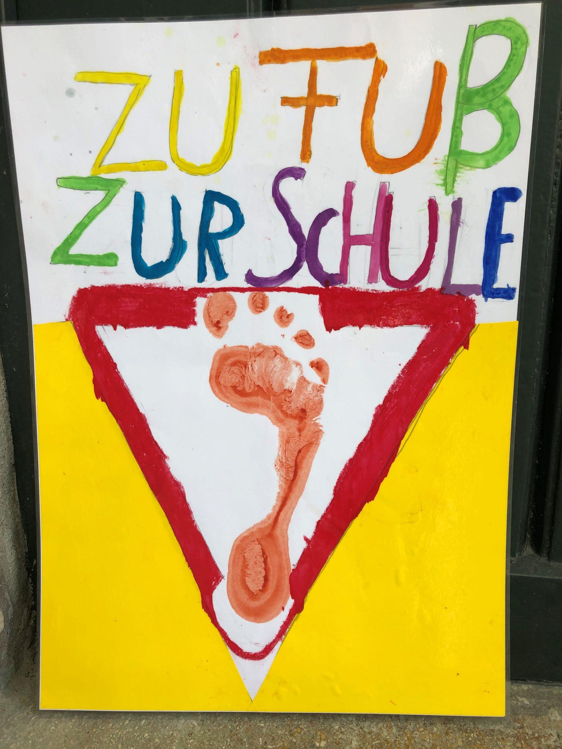 """Aktion """"Zu Fuß zur Schule"""""""