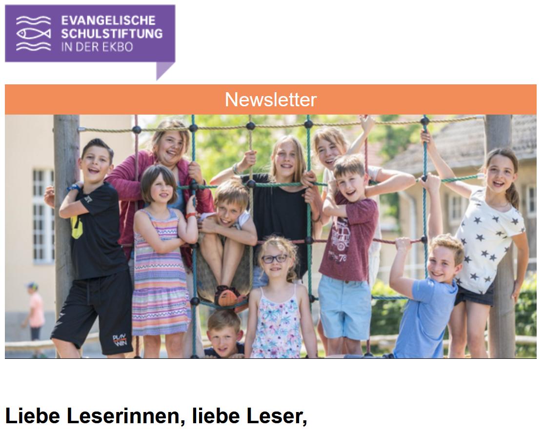 Newsletter der ev. Schulstiftung 01-2021