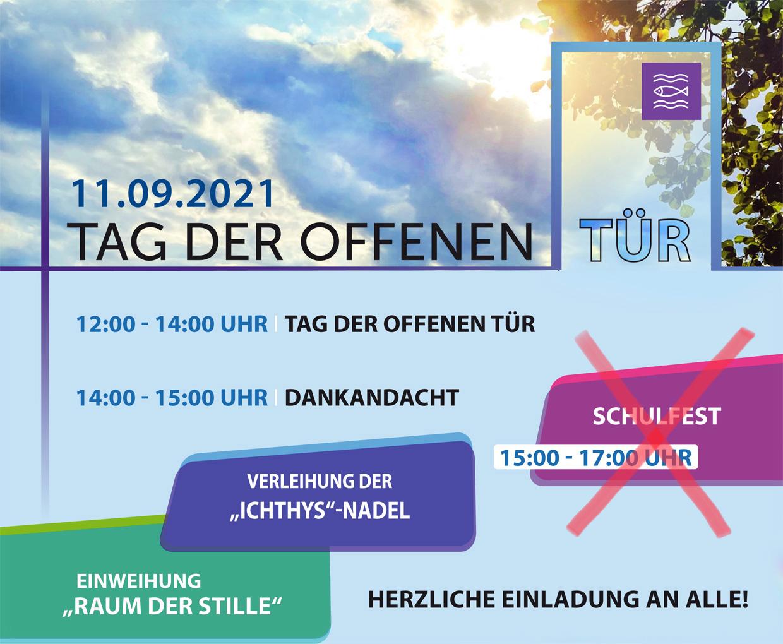 Read more about the article Plan zum Tag der offenen Tür / Absage des Schulfests im Anschluss